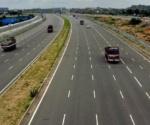 4 lane road