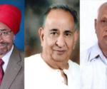 Balbir Singh Renu, Shankarlal Jalan and Ratanlalji Lahoti