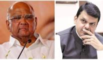 Sharad Pawar and CM Fadnavis