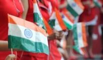 Plastic Indian Flag