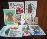 tribal artwork at LAD College