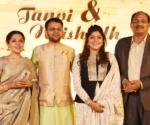 Jyoti Dixit, Naishadh and Tanvi Dixit Sutaria and Brijesh Dixit
