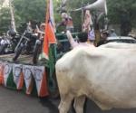 NCP demonstrates against petrol price