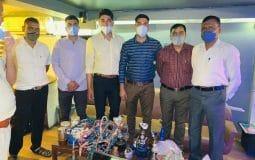 Special Squad of DCP Vinita S raids hookah parlour running at cafe Kabila