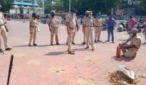 गोंदिया: बलवा एवं दंगा से निपटने के लिए पुलिस मॉक ड्रिल