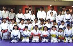 Karate Brown Belt awarded to Shivam Sontakke in 'Belt Gradation'